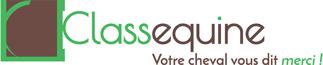 Logo ClassEquine, formations bien-être cheval