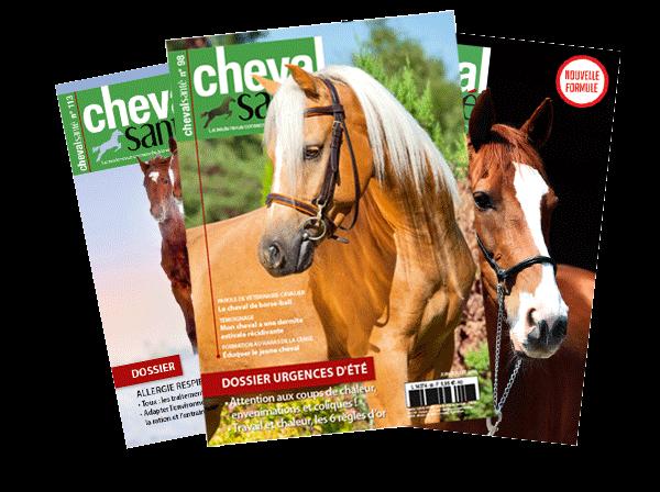 magazine cheval sante