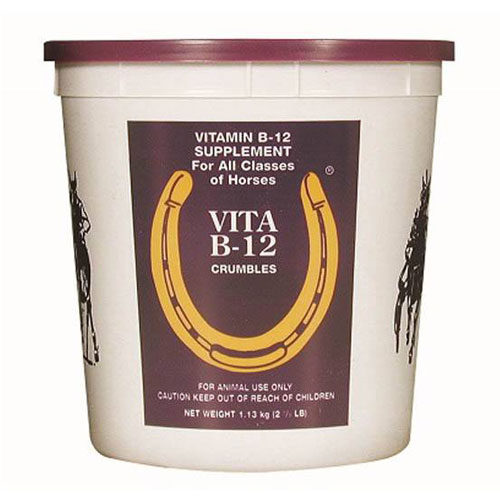 Vitamin B12 crumble cheval