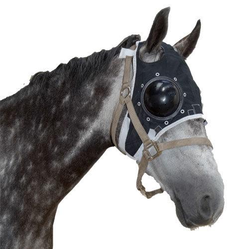 Masque protège œil cheval