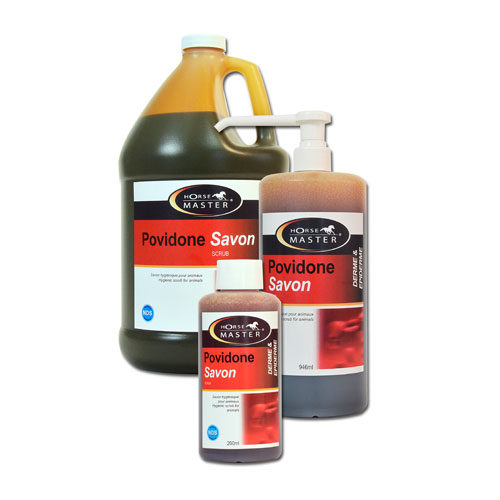 Povidone savon 7.5% betadine rouge cheval