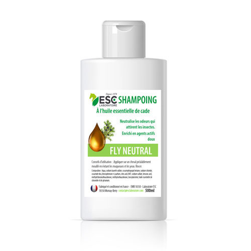 Shampoing anti-mouches cheval