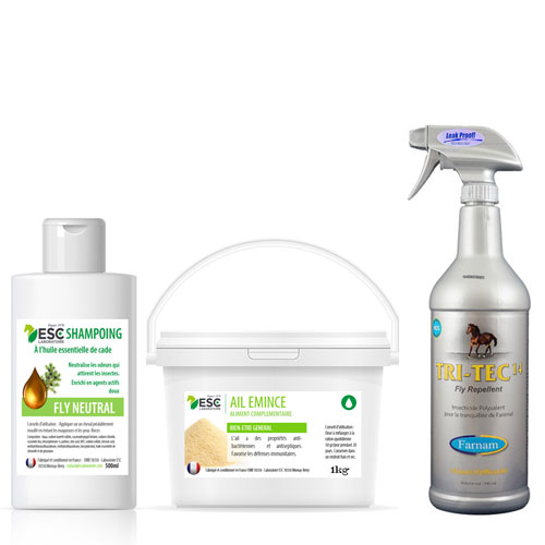 pack insectes cheval