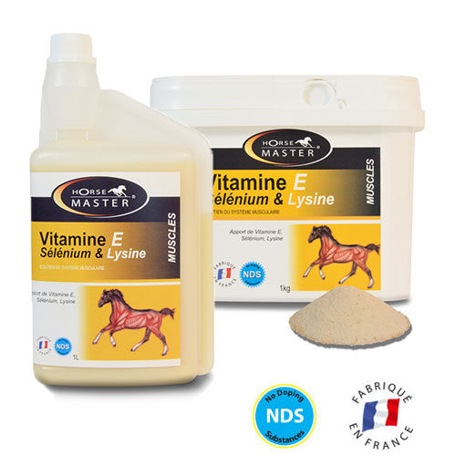 Vitamine E Sélénium & Lysine